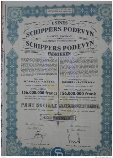 Schippers podevyn 2